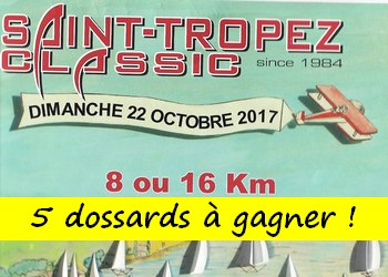 Photo of 5 dossards Saint-Tropez Classic 2017 (Var)