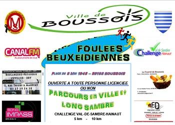 Photo of Foulées Beuxeidiennes 2020, Boussois (Nord)