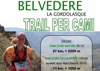 Photo of Trail per cami 2020, Belvédère (Alpes Maritimes)