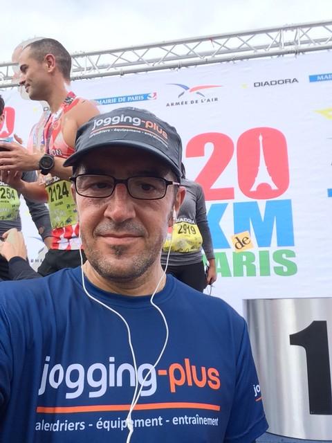 Résultats et classement du 20 km de Paris 2017