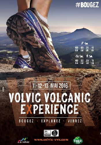 2 dossards Volvic Volcanic Experience 2018 (Puy de Dôme)