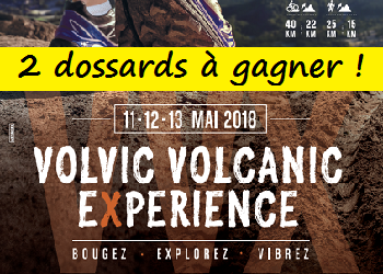 Photo of 2 dossards Volvic Volcanic Experience 2018 (Puy de Dôme)
