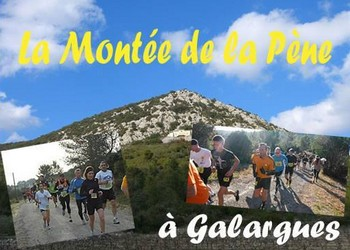 Photo de Montée de la Pène 2019, Galargues (Hérault)