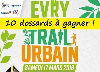 Photo of 10 dossards Evry Trail Urbain 2018 (Essonne)