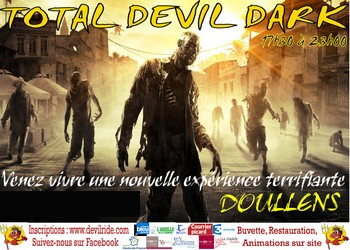 Photo of Total devil dark, course de zombies, Doullens (Somme)