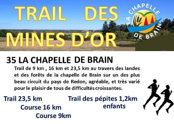 Photo de Trail des mines d'or 2020, La Chapelle-de-Brain (Ille et Vilaine)