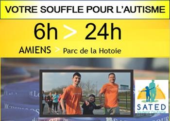 Photo of Les 6 et 24 heures pour l'autisme, Amiens (Somme)