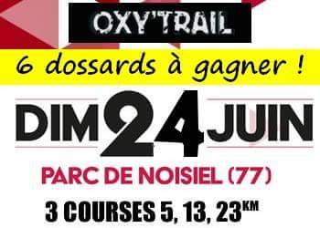 Photo of 6 dossards Oxy'Trail 2018 (Noisiel, Seine et Marne)