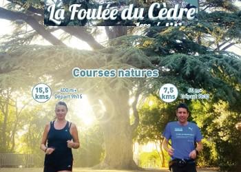 Photo de Foulée du Cèdre 2021, Villelaure (Vaucluse)