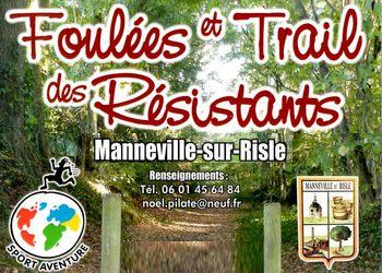 Foulées et Trail des Résistants 2020, Manneville-sur-Risle