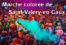 Marche colorée de Saint-Valery-en-Caux (Seine Maritime)
