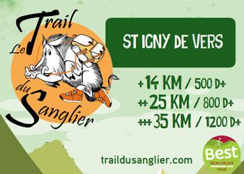 Photo de Trail du sanglier 2020, Saint-Igny-de-Vers (Rhône)