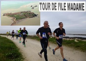 Photo of 10 km du Tour de l'ile Madame 2020, Port-des-Barques (Charente Maritime)