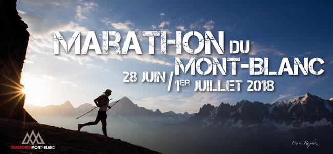 5 dossards 10 km du Marathon du Mont Blanc 2018, Chamonix (Haute Savoie)