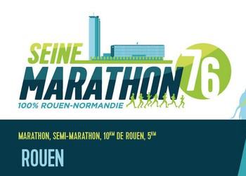 Photo de Seine-Marathon 76  2020, Rouen (Seine Maritime)
