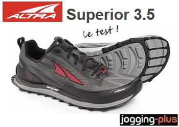 Photo de Test des Altra Superior 3.5, le top en zero drop