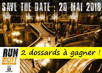 2 dossards Run My City Paris 2018 !