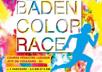 Photo of Baden Color Race, course de couleurs (Morbihan)