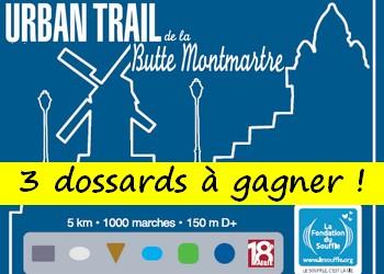 Photo of 3 dossards Urban Trail de la Butte Montmartre 2018, Paris