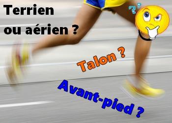 Talon ou avant du pied, aérien ou terrien, quel type de coureur êtes-vous ?