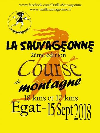 10 dossards La Sauvageonne 2018 (Pyrénées Orientales)