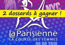 2 dossards pour La Parisienne 2018