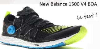 Test des New Balance 1500 v4 équipées du système BOA