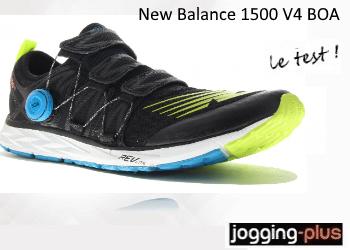 Photo of Test des New Balance 1500 v4 équipées du système BOA