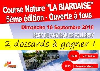Photo of 2 dossards La Biardaise 2018 (Calvados)