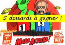 5 dossards Trail de la Planète Mars 2018 (Loire)