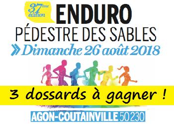 Photo of 3 dossards Enduro des sables 2018 (Manche)