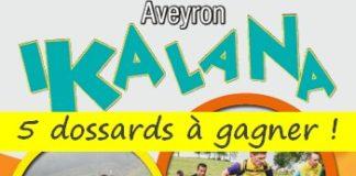 5 dossards Ikalana - Trail du Lévézou 2018 (Aveyron)