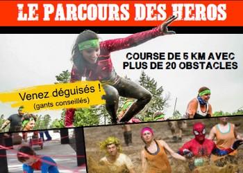 Photo of Parcours des Héros 2019, course à obstacles, Saint-Jean-d'Angély (Charente Maritime)