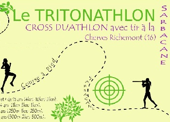 Photo de Tritonathlon 2019, Cherves-Richemont (Charente)