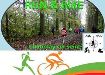 Photo de Run & Bike ASL Raid 2019, Châtenay-sur-Seine (Seine et Marne)