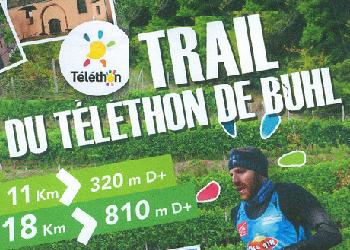 Photo of Trail du Téléthon de Buhl 2019 (Haut Rhin)