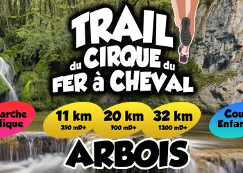 Photo of Trail du Cirque du Fer à Cheval 2020, Arbois (Jura)