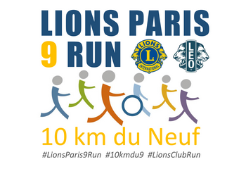 Photo de 10 km du Neuf – Lions Paris 9 Run 2020