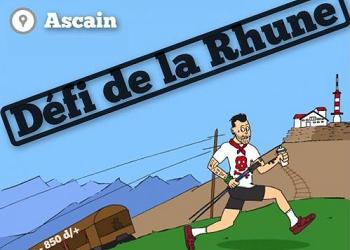 Photo of Défi de la Rhune, Ascain (Pyrénées Atlantiques)