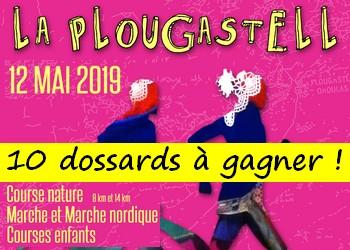 Photo de 10 dossards La Plougastell 2019 (Finistère)