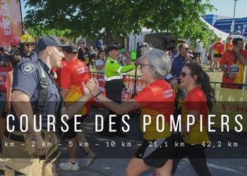 Photo of Course des Pompiers 2021, Laval (Canada)