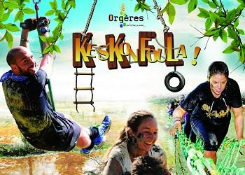 Photo of La Keskonfoula, course à obstacles, Orgères (Ille et Vilaine)