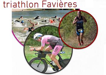Photo de Triathlon de Favières 2020 (Meurthe et Moselle)