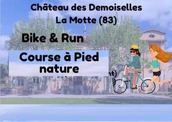 Photo of Course nature et Bike & Run du château des Demoiselles 2019, La Motte (Var)