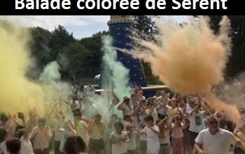 Photo of Balade colorée 2020, Sérent (Morbihan)