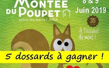 Photo de 5 dossards Montée du Poupet 2019 (Jura)