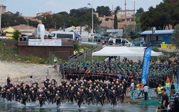 Photo de Triathlon de la Côte Bleue 2021, Sausset-les-Pins (Bouches du Rhône)