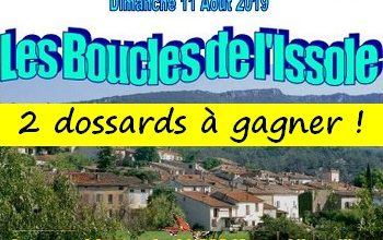 Photo of 2 dossards Boucles de l Issole 2019 (Var)
