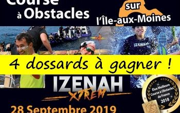 Photo of 4 dossards Izenah XTREM 2019 (Morbihan)