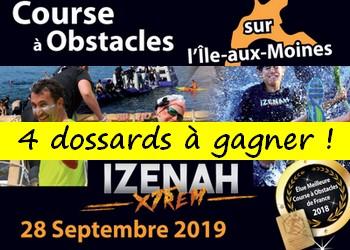 4 dossards Izenah XTREM 2019 (Morbihan)